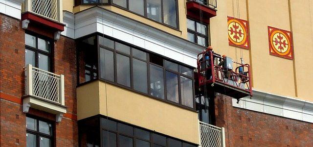 עבודות בסנפלינג לאיטום בנייני מגורים